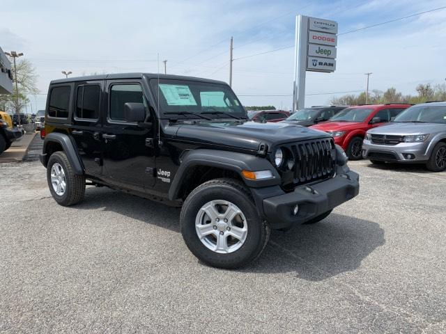 New 2019 Jeep Wrangler Unlimited Sport S 4x4