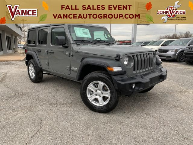 Jeep Wrangler Unlimited Sport >> New 2019 Jeep Wrangler Unlimited Sport S 4x4 Sport Utility In