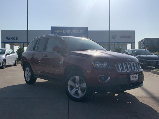 Pre-Owned 2015 Jeep Compass FWD 4dr High Altitude Edition
