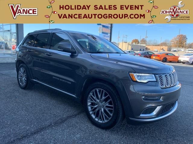Pre-Owned 2017 Jeep Grand Cherokee Summit 4x4