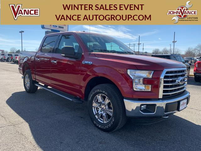 Pre-Owned 2015 Ford F-150 4WD SuperCrew 145 XLT