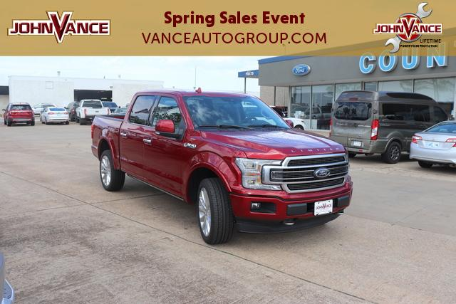 New 2019 Ford F-150 Limited 4WD SuperCrew 5.5' Box