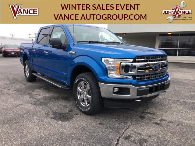 Super Crew Cab >> New 2019 Ford F 150 Xlt 4wd Supercrew 5 5 Box 4wd
