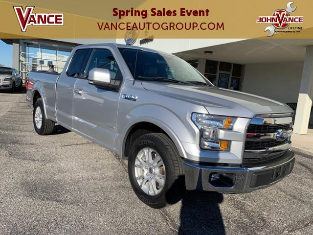 Pre-Owned 2016 Ford F-150 2WD SuperCab 145 Lariat