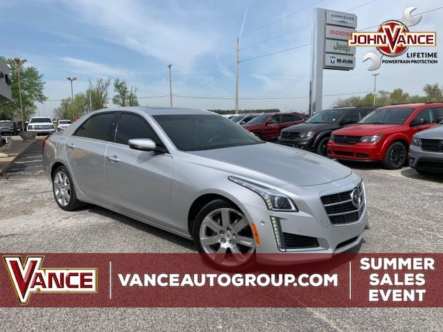Pre-Owned 2014 Cadillac CTS 4dr Sdn 2.0L Turbo Premium AWD