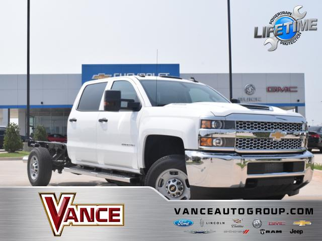 New 2019 Chevrolet Silverado 2500hd 4wd Crew Cab 167 7 Work Truck