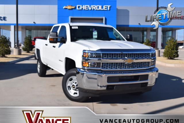 New 2019 Chevrolet Silverado 2500HD 4WD Crew Cab 153.7 Work Truck