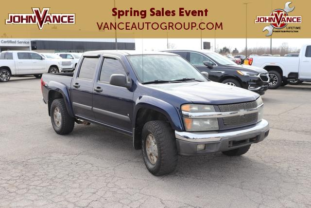 Pre-Owned 2007 Chevrolet Colorado 4WD Crew Cab 126.0 LT w/3LT