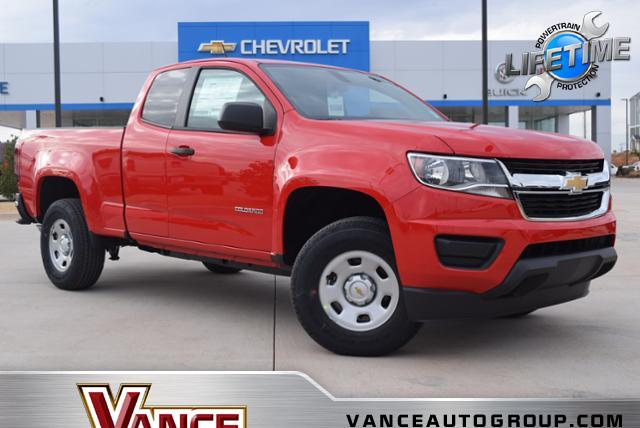 New 2019 Chevrolet Colorado 2WD Ext Cab 128.3 Work Truck