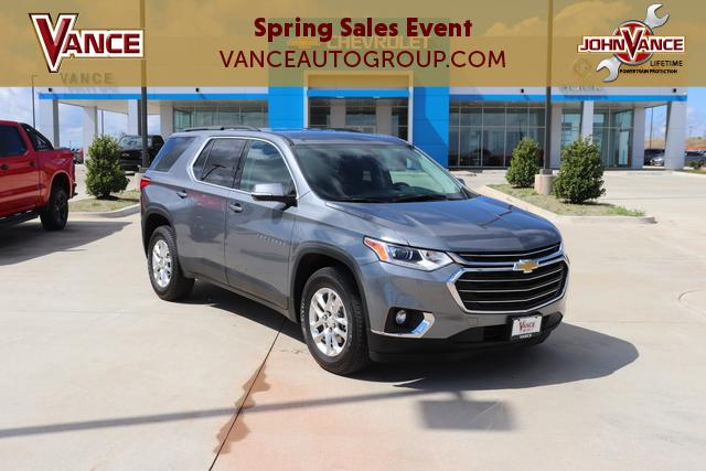 Pre-Owned 2019 Chevrolet Traverse FWD 4dr LT Cloth w/1LT