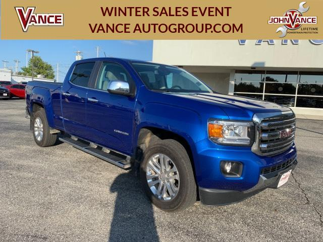 Pre-Owned 2018 GMC Canyon 4WD Crew Cab 140.5 SLT