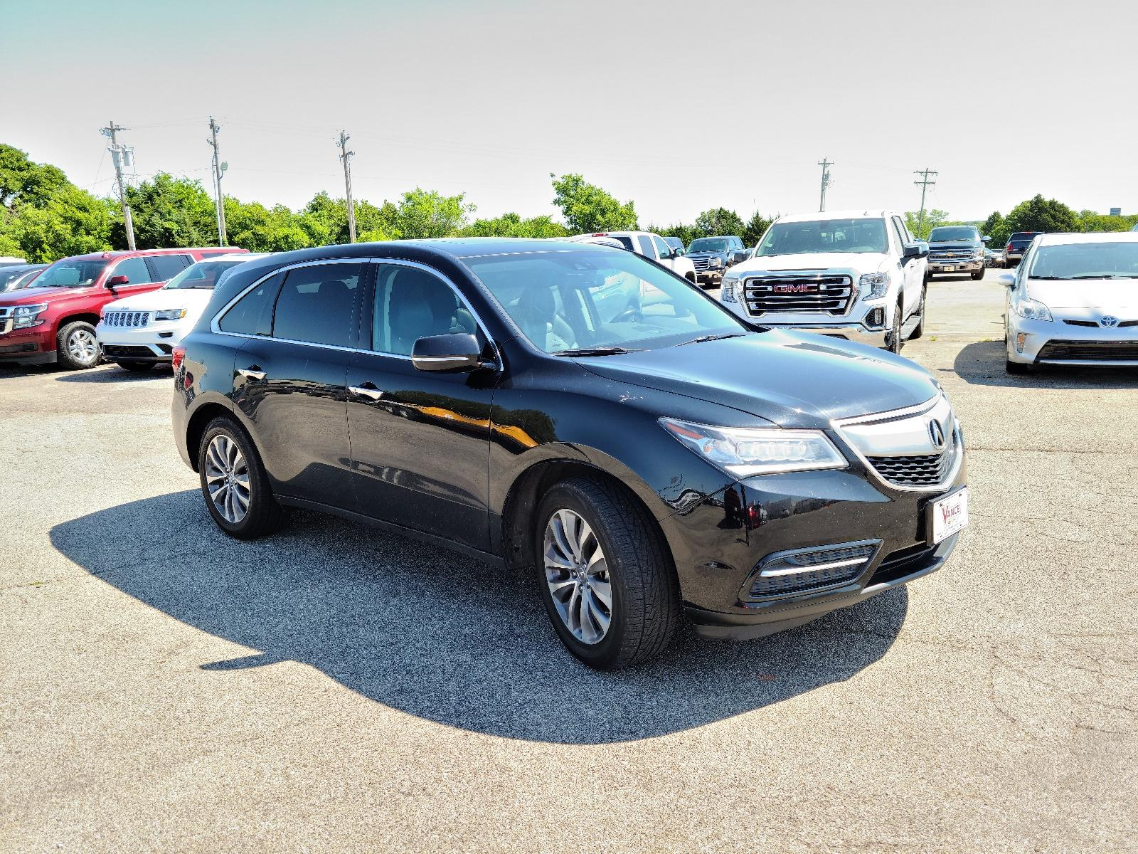 Pre-Owned 2014 Acura MDX SH-AWD 4dr Tech/Entertainment Pkg
