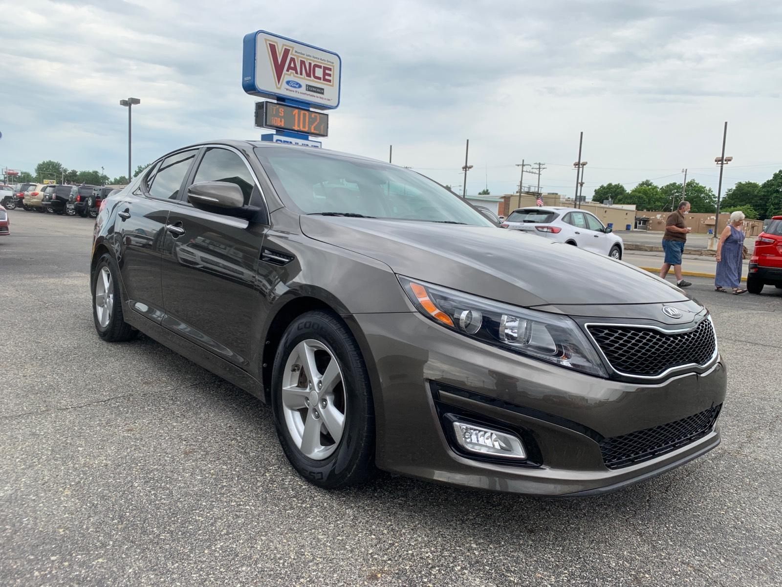 Pre-Owned 2014 Kia Optima 4dr Sdn LX