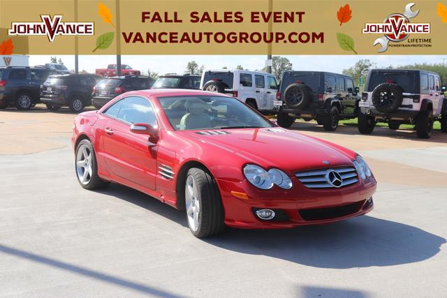 Pre-Owned 2007 Mercedes-Benz SL-Class 2dr Roadster 5.5L V8