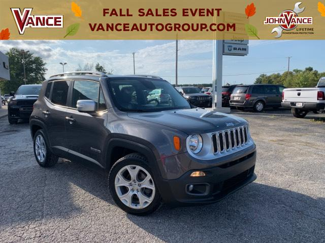 Pre-Owned 2016 Jeep Renegade FWD 4dr Limited