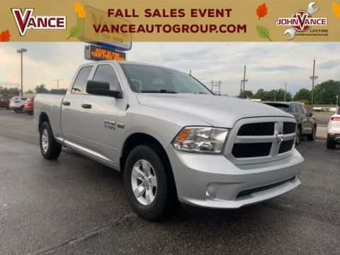Pre-Owned 2017 Ram 1500 Express 4x2 Quad Cab 6'4 Box