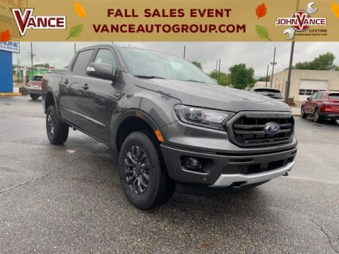 New 2019 Ford Ranger LARIAT 2WD SuperCrew 5' Box