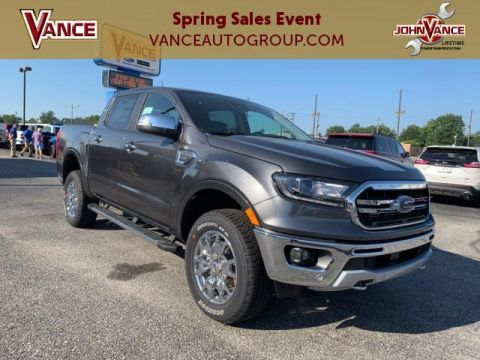 New 2019 Ford Ranger LARIAT 4WD SuperCrew 5' Box