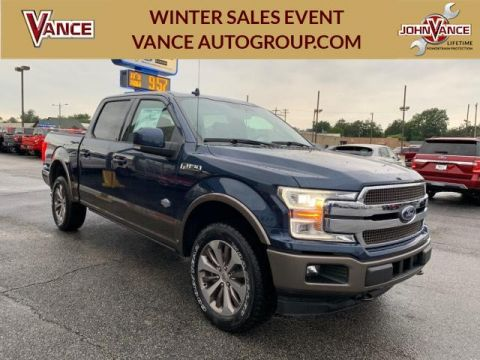 New 2019 Ford F-150 King Ranch 4WD SuperCrew 5.5' Box