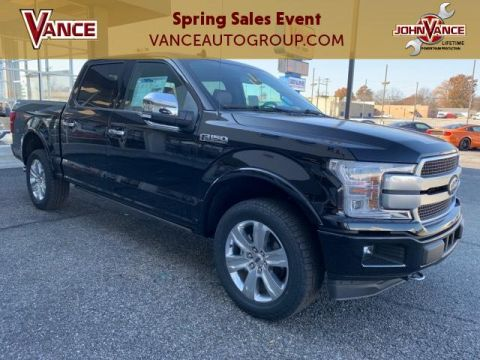 New 2020 Ford F-150 Platinum 4WD SuperCrew 5.5' Box