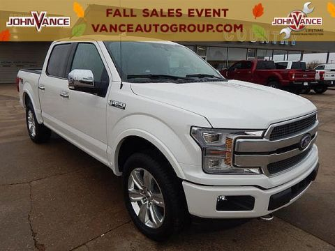 New 2019 Ford F-150 Platinum 4WD SuperCrew 5.5' Box