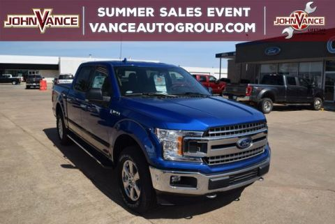New 2018 Ford F-150 XLT 4WD SuperCrew 5.5' Box