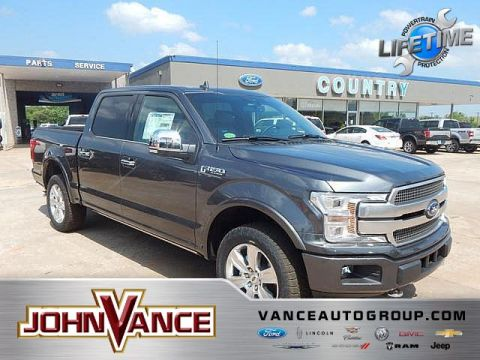 New 2018 Ford F-150 Platinum 4WD SuperCrew 5.5' Box