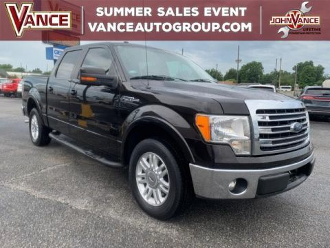 Pre-Owned 2013 Ford F-150 2WD SuperCrew 145 Lariat