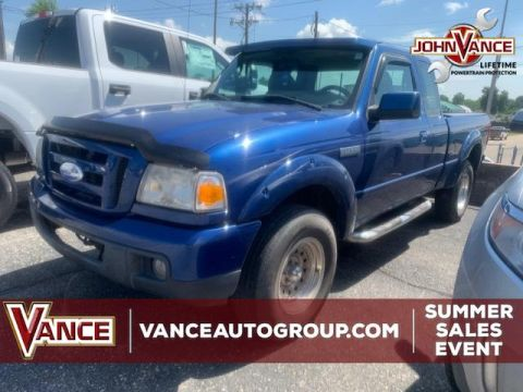 Pre-Owned 2007 Ford Ranger 2WD 4dr SuperCab 126 Sport