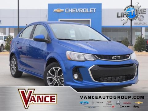 New 2019 Chevrolet Sonic 4dr Sdn Auto LT