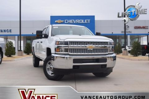 New 2019 Chevrolet Silverado 2500HD 4WD Crew Cab 167.7 Work Truck