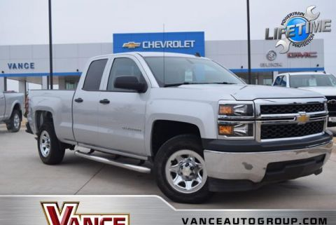 Pre-Owned 2014 Chevrolet Silverado 1500 2WD Double Cab 143.5 Work Truck w/