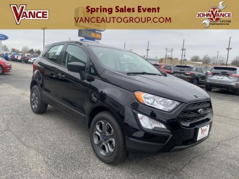 New 2020 Ford EcoSport S FWD